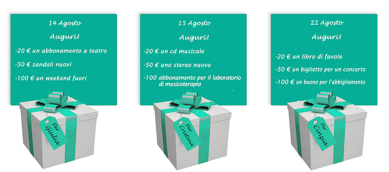 banner pacchetti compleanno solidale COLORE BANNER