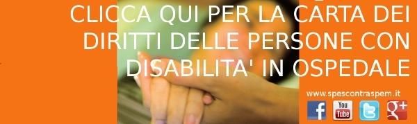 Carta dei diritti delle persone con disabilità in ospedale