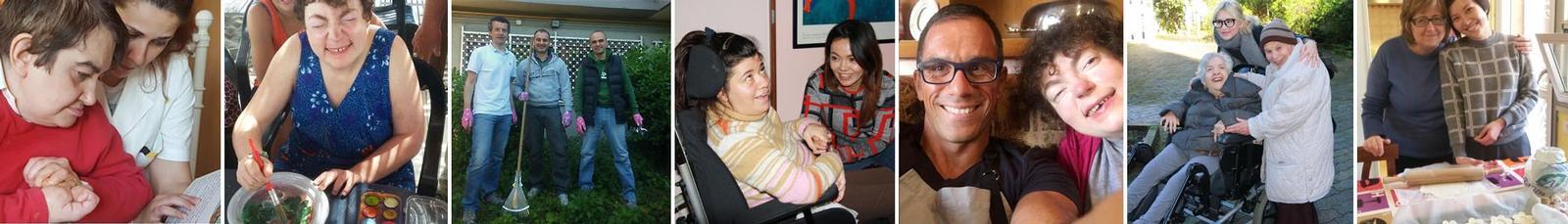 volontariato case famiglia per persone con disabilità
