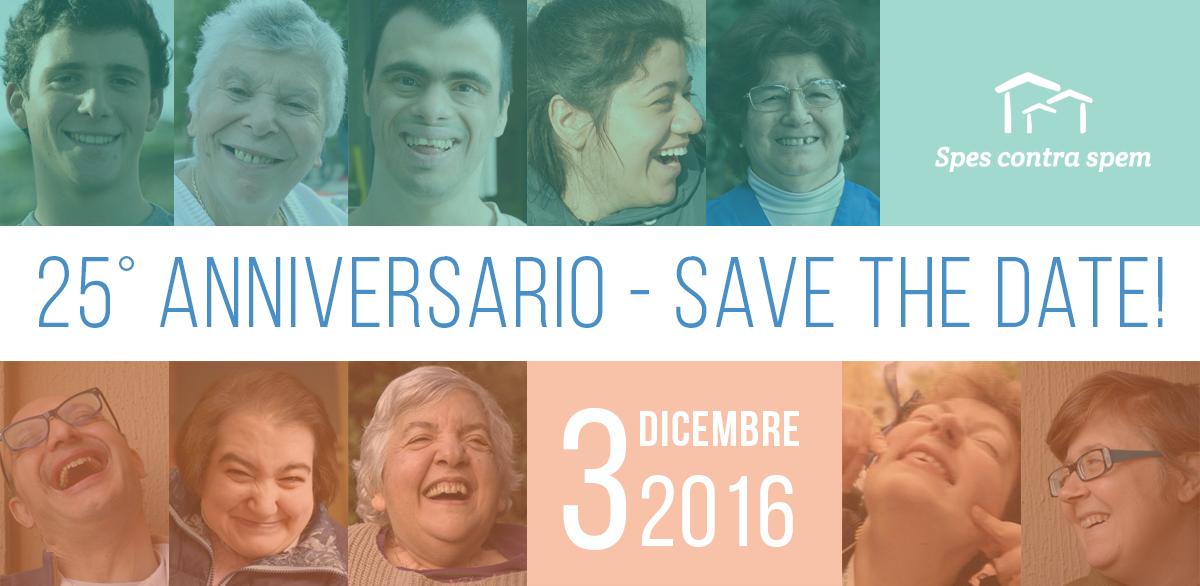 Anniversario cooperativa Spes contra spem - save the date!