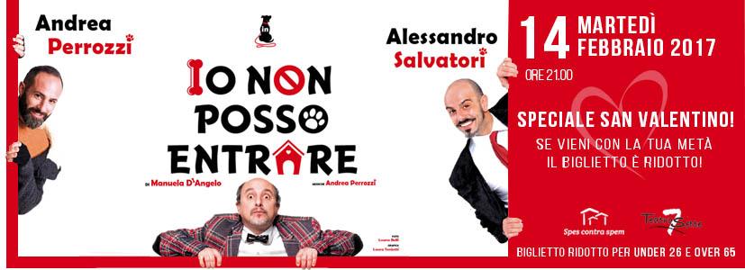 Spettacolo teatrale roma sconto san valentino