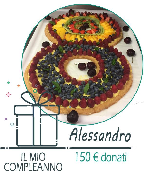 Compleanno Solidale di Alessandro