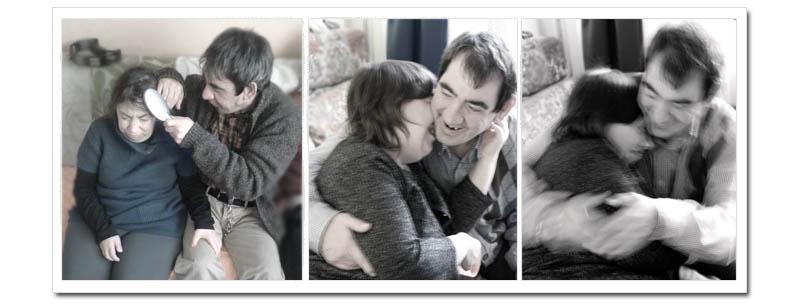 Emilia e Stefano- casa famiglia Casablu