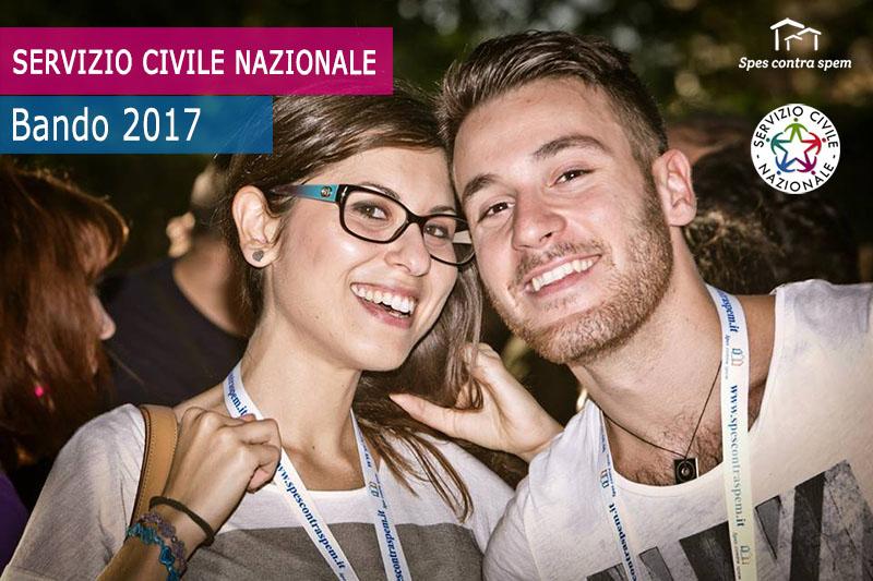 Servizio civile nazionale: bando 2017!