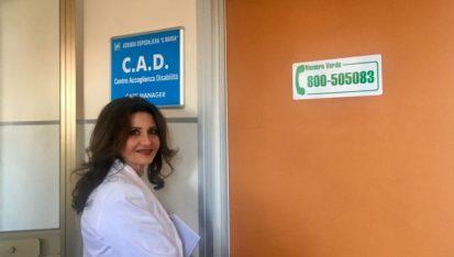 Nella foto: la dott.ssa Agnese Barsacchi, responsabile servizio infermieristico, tecnico,riabilitativo, ostetrico (S.I.T.R.O.) dell' Ospedale s.maria di Terni.