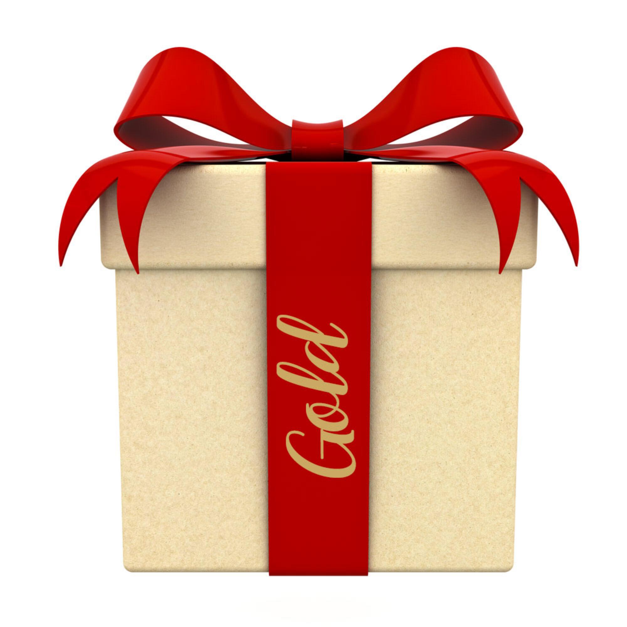CHRISTMAS BOX GOLD