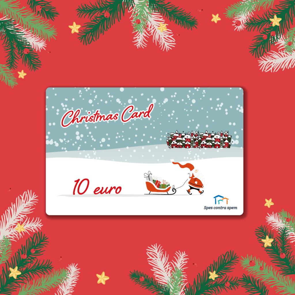Christmas Card 10 Euro