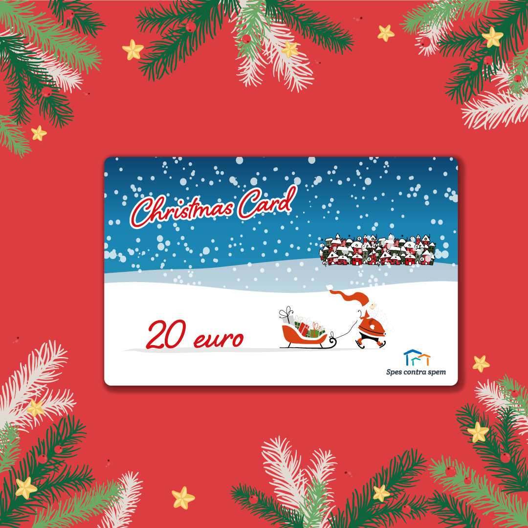 Christmas Card 20 Euro
