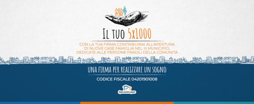 Spes Contra Spem - Campagna 5x1000 - Cover Facebook